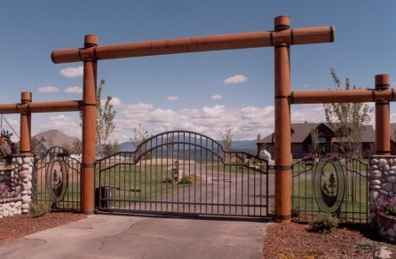 Gates Entry Gates And Columns On Pinterest