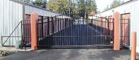 Heavy Duty slide gate with Glide Beam